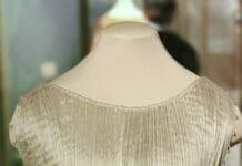 Платье Дельфос - фрагмент