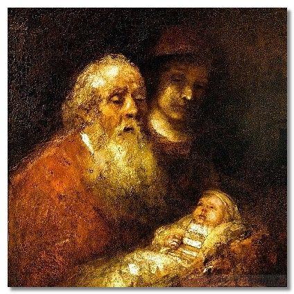 Рембрандт. Сретенье