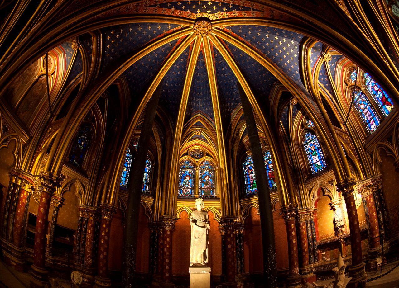 Сент-Шапель (Париж). Нижний храм