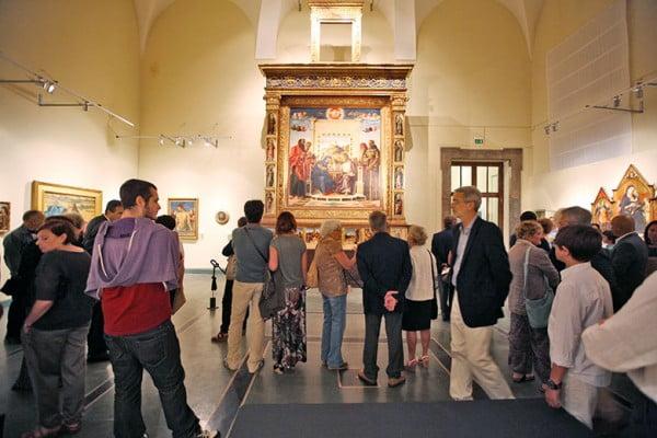Экспозиция Беллини в Городском музее Пезаро (Италия)