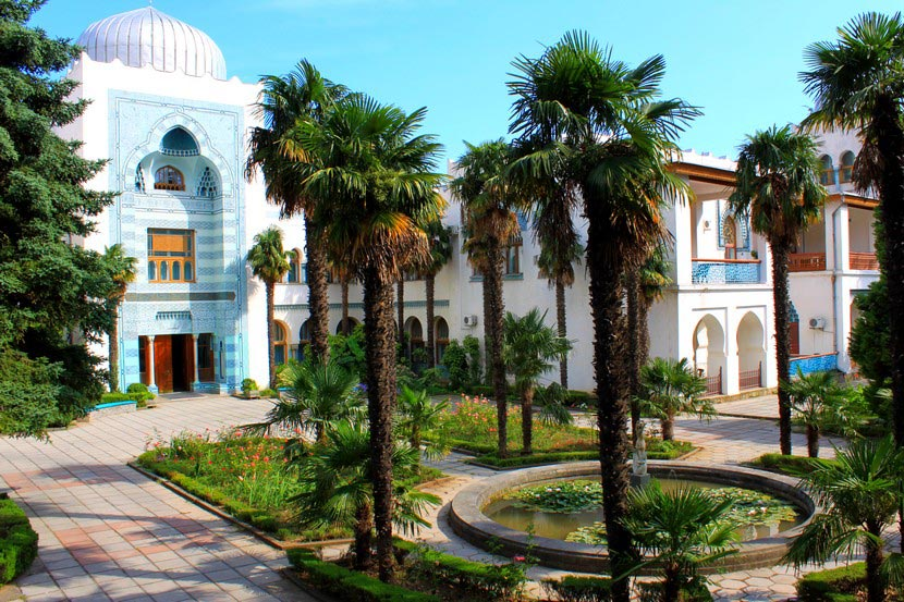 Дворец Дюльбер. Крым