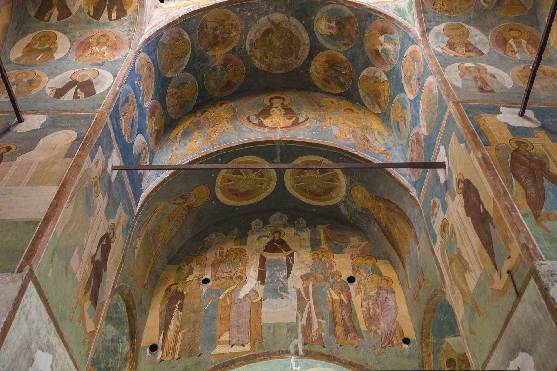Ферапонтов монастырь. Фрески Дионисия