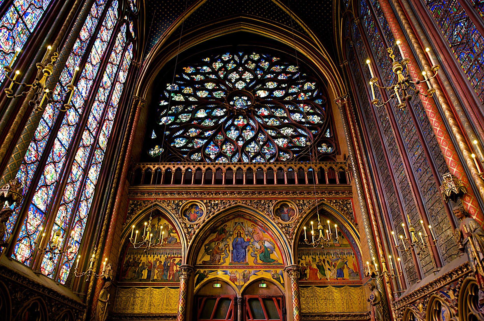 Сент-Шапель (Париж). Верхний храм