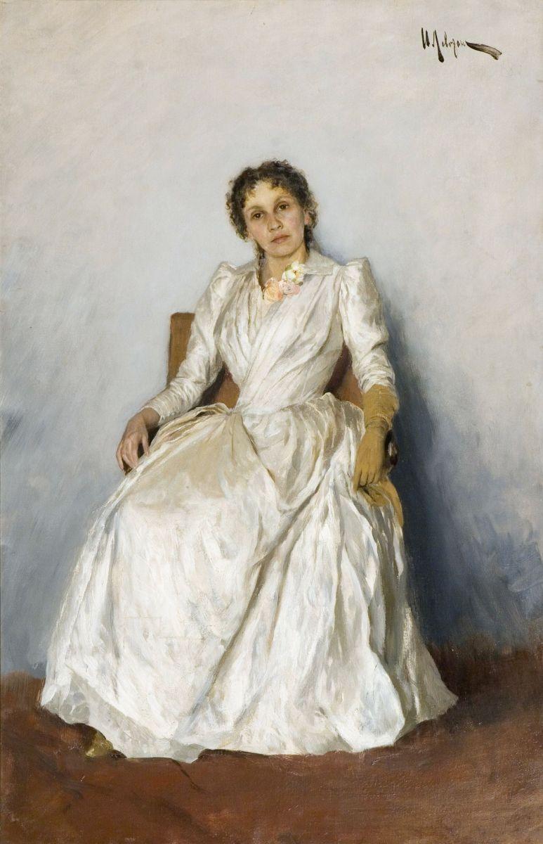 1888 Исаак Левитан. Портрет Софьи Кувшинниковой