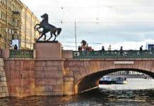 Аничков мост_мосты Фонтанки санкт-петербург