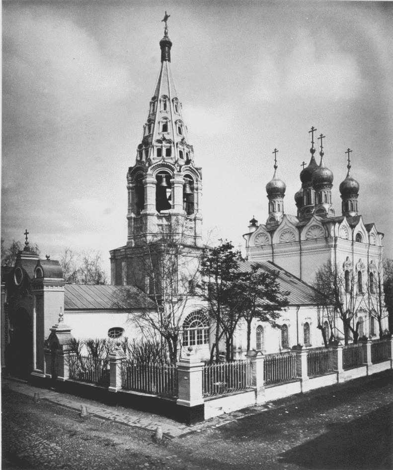 Храм Спаса Преображения на Песках, 1882