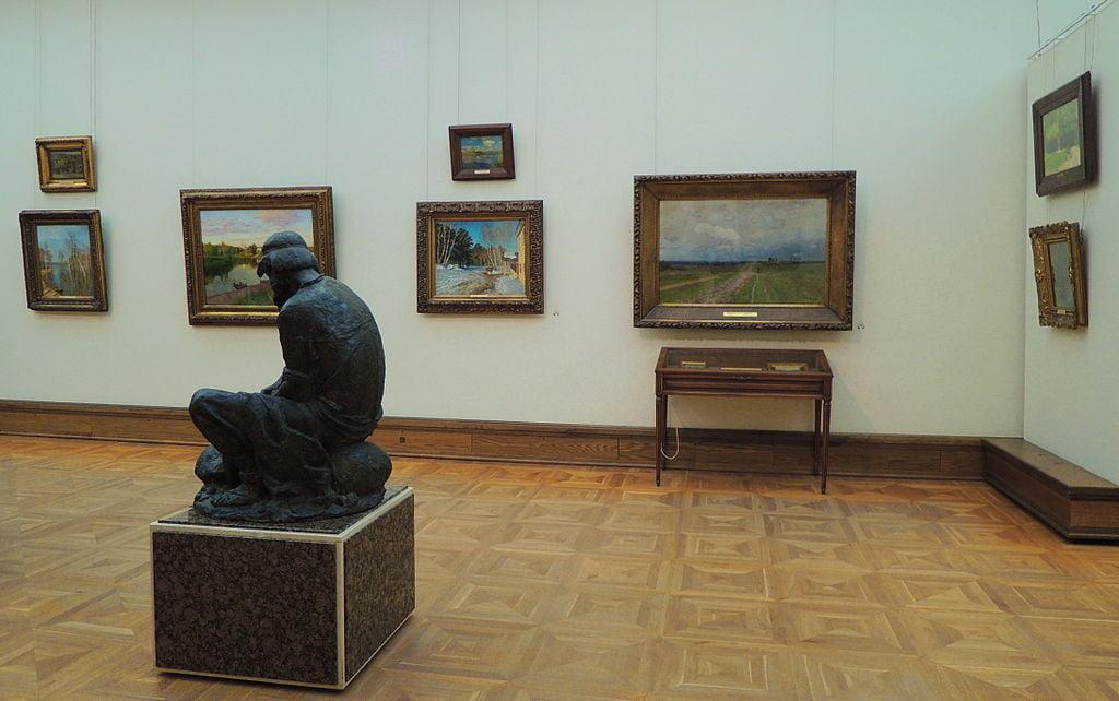Левитановский зал в Третьяковской галерее