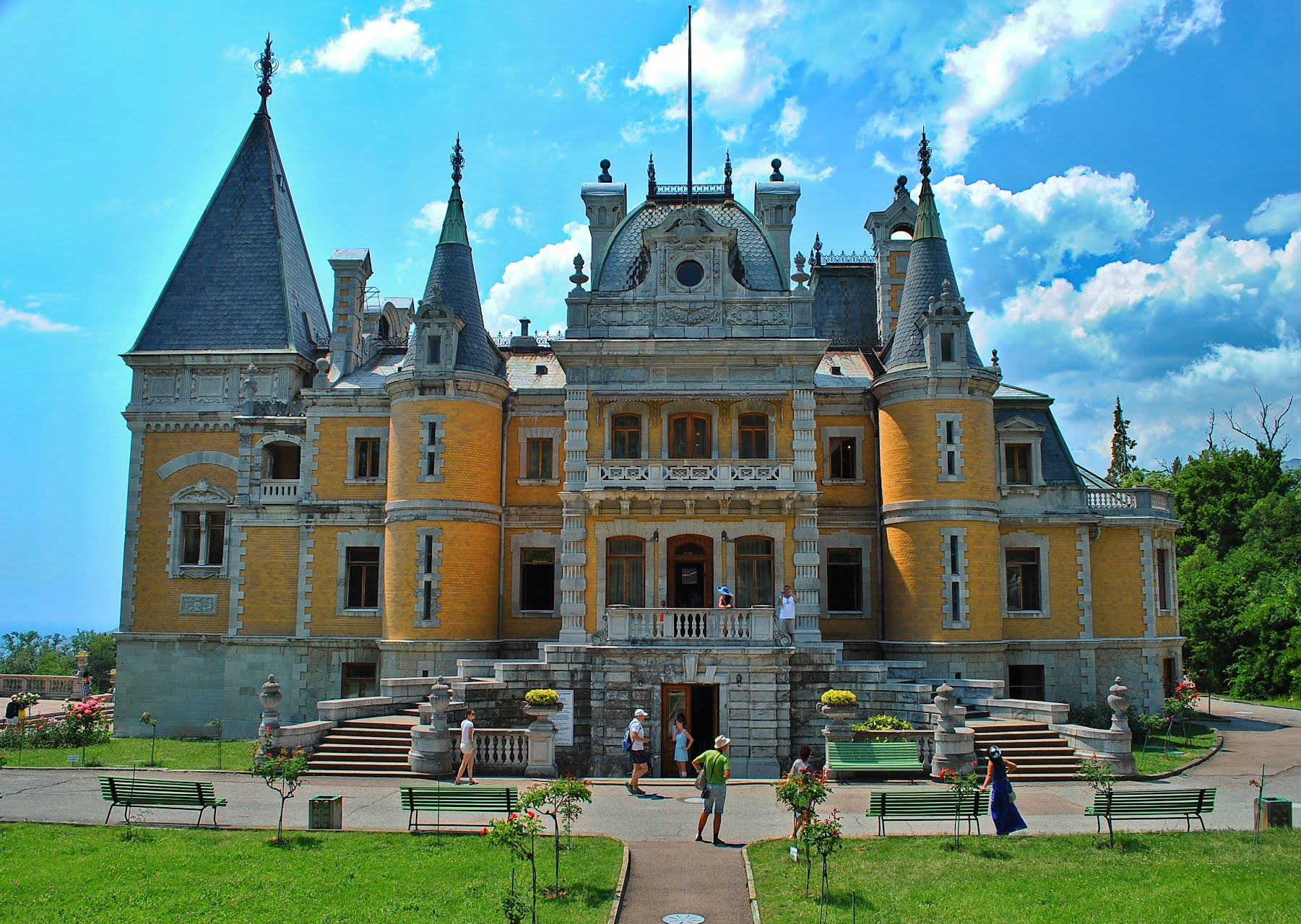 Массандровский дворец. Крым