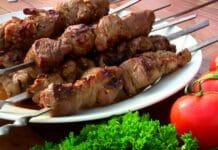 Шашлык Кавказская кухня