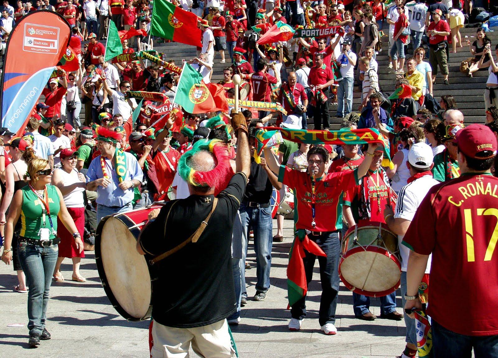 Болельщики Португалии