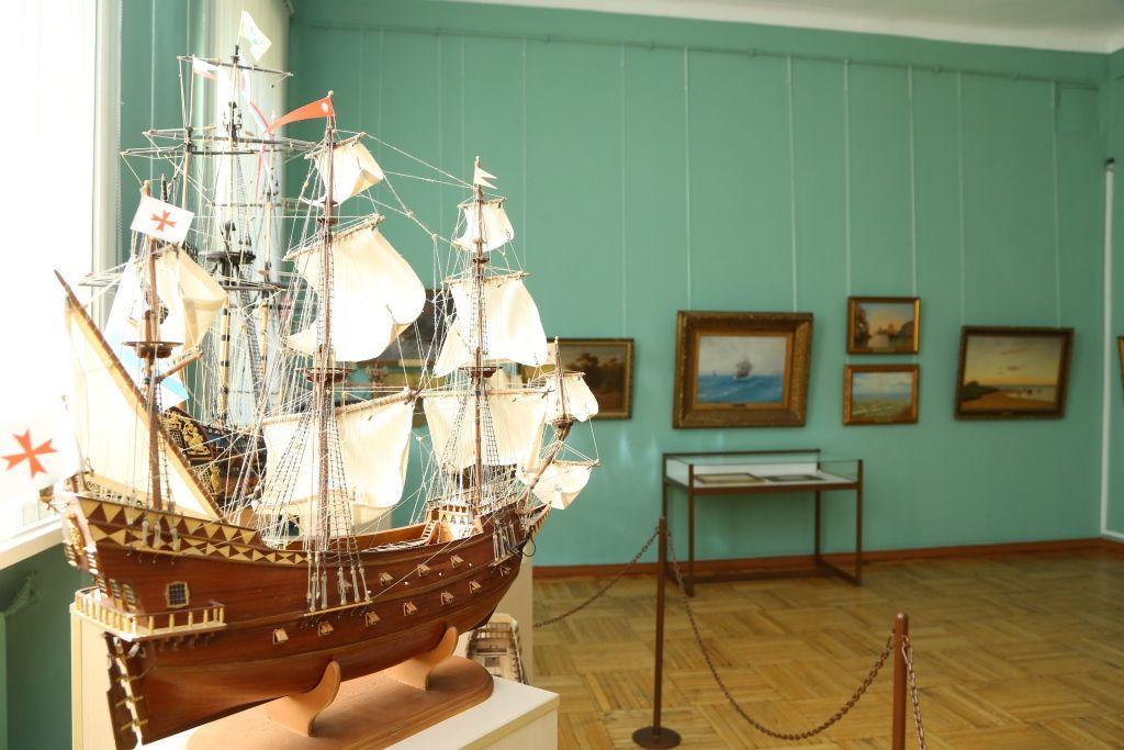 Иркутский музей. Выставка Айвазовского
