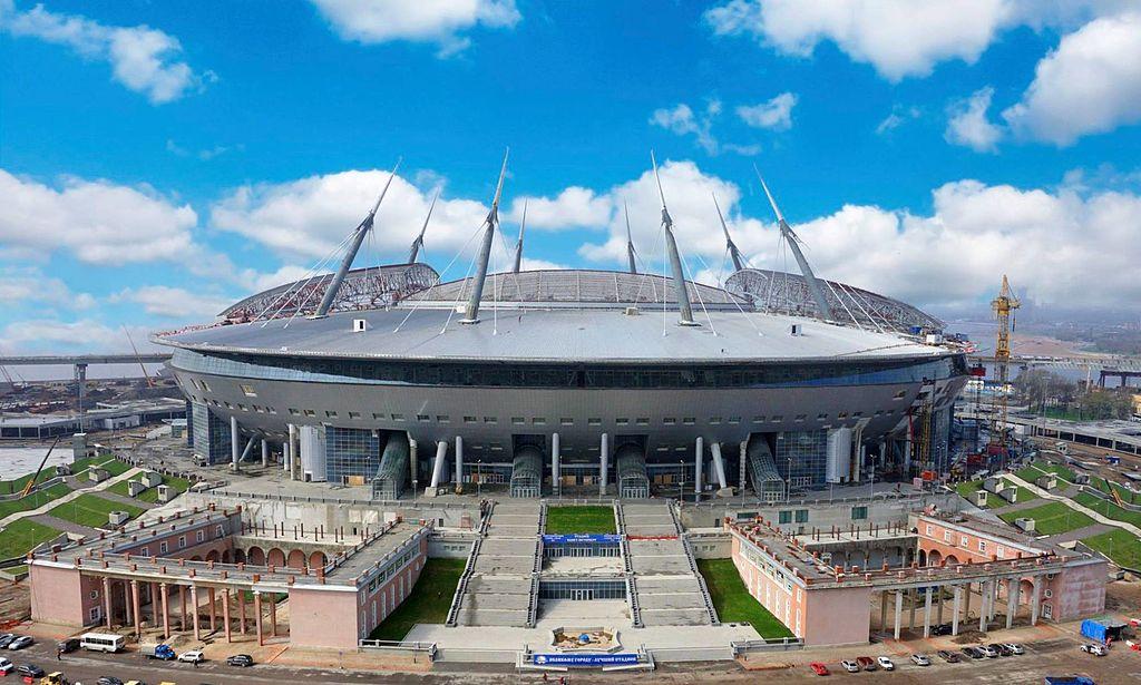 Стадион Крестовский в Санкт-Петербурге