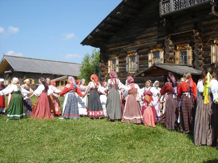 В Музее масла деревни Семенково