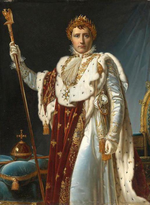 Наполеон Бонапарт после коронации
