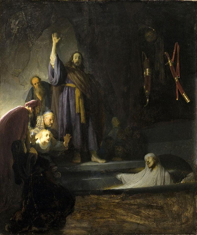 Рембрандт. Воскрешение ЛАзаря.1630