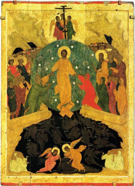 Дионисий. сошествие Христа в ад. Рубеж XV-XVI веков