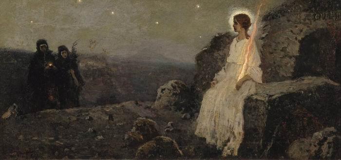 Жены-мироносицы. М. Нестеров 1889