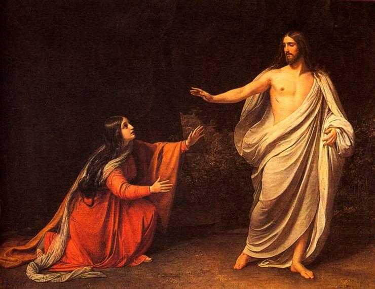Явление Христа Марии Магдалине после воскресения 1835