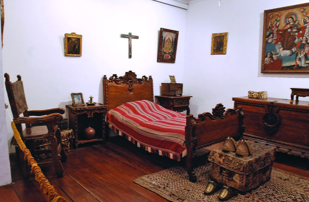 Спальня Б.Э. Мурильо в севильском доме художника (Испания)