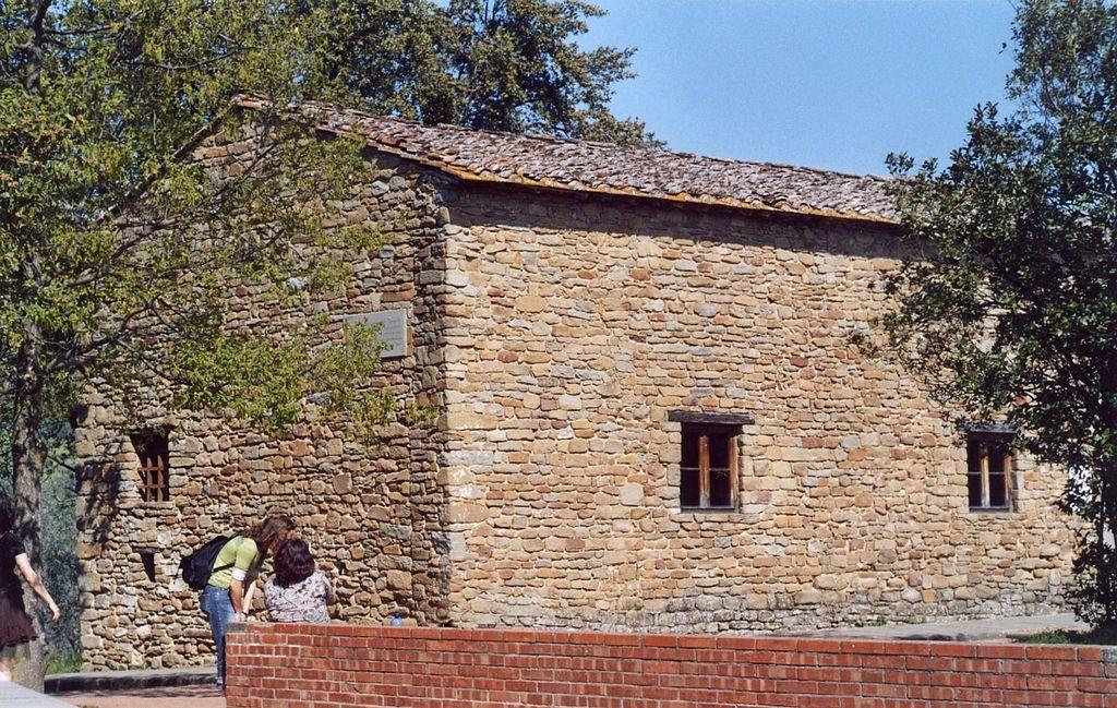 Дом, в котором жил Леонардо в детстве