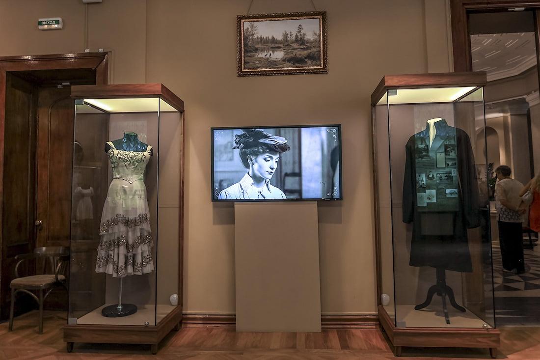 экспозиция балерины в особняке Матильды Кшесинской в Санкт-петербурге