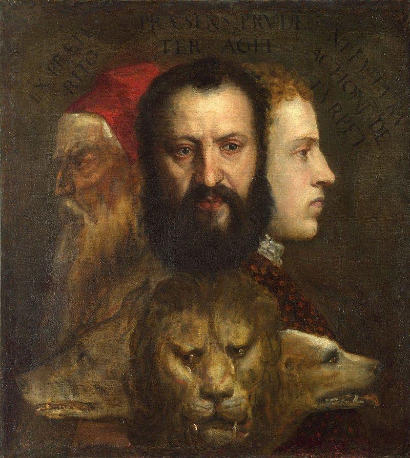 «Аллегория благоразумия» (середина 1560-х) Тициан