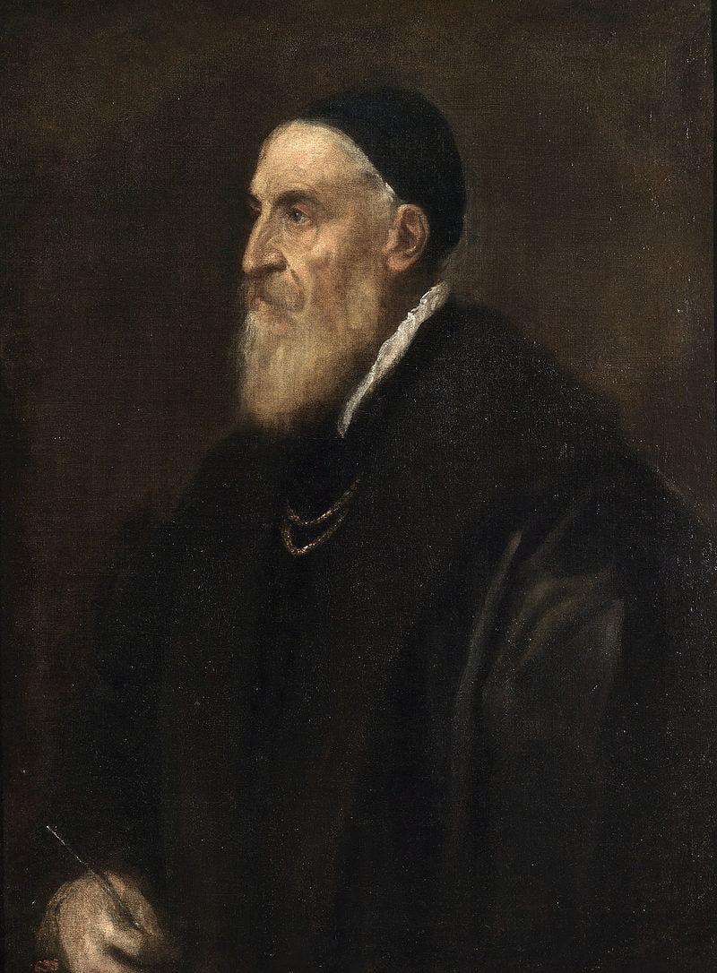 """Автопортрет"" 1567 год. Музей Прадо (Мадрид)"