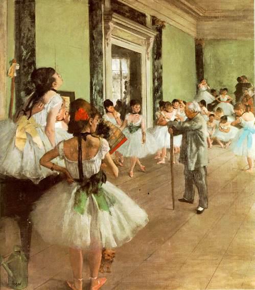 Эдгар Дега. Танцевальный класс. Музей Орсэ