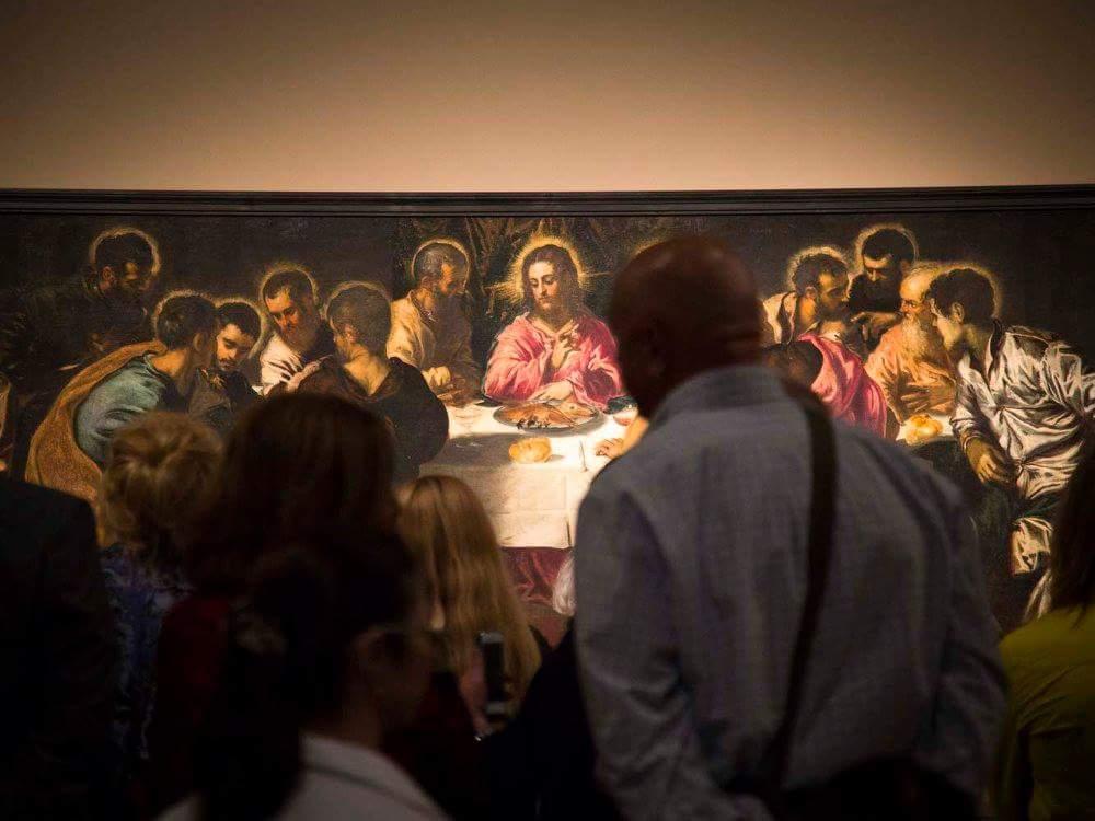 Тайная вечеря. 1547. Холст, масло. Якопо Робусти, прозванный Тинторетто (1518–1594). Венеция, церковь Сан-Маркуола