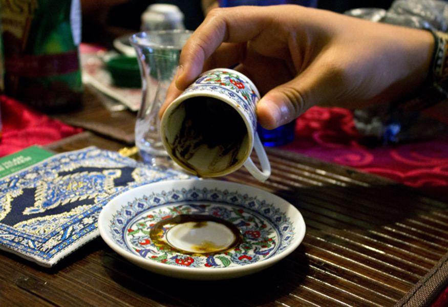 Гадание на кофе Фестиваль Турции