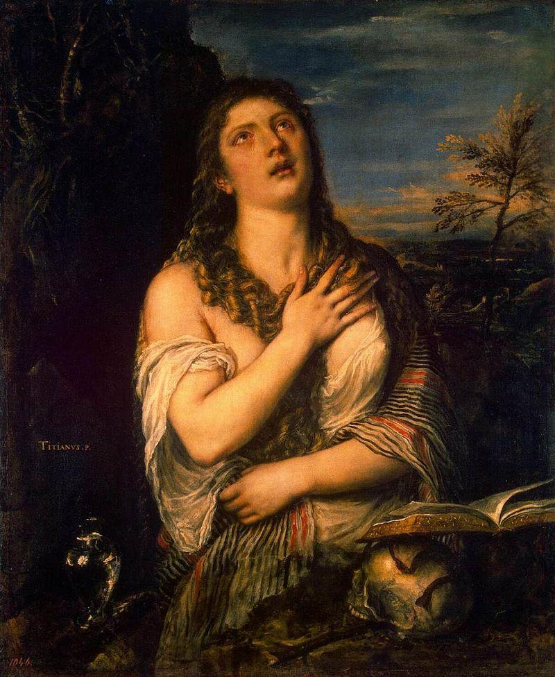 """""""Кающаяся Мария Магдалена"""" Тициан. Около 1565. Эрмитаж (Санкт-Петербург)"""