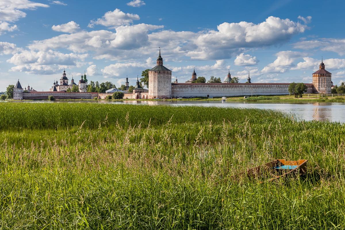 Кирилло-Белозерский монастырь (город Кириллов) Вологодская область