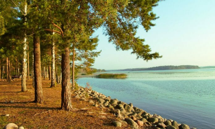 Приозерск озера