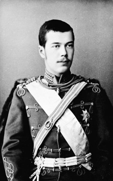 Молодой великий князь Николай Александрович