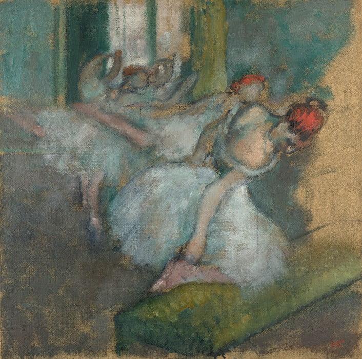 """Эдгар Дега """"Балерины"""" Британская национальная галерея"""