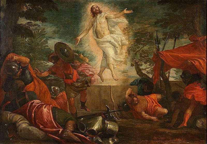 Паоло Веронезе (1528–1588). Воскресение Христа. Около 1580. Холст, масло