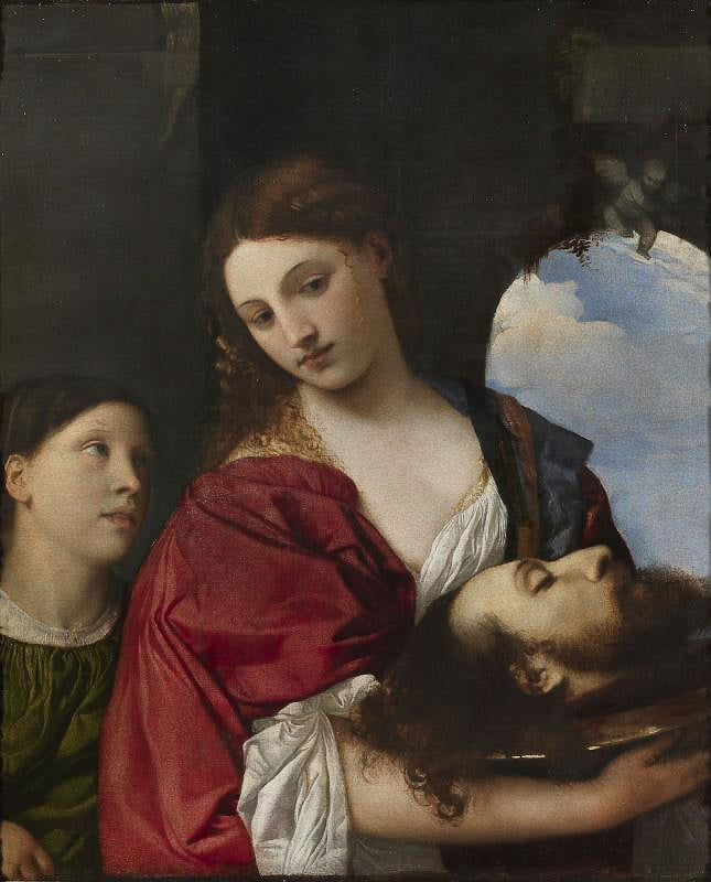Тициан Вечеллио (1488 1490–1576). Саломея. Около 1515. Холст, масло. Рим, Галерея Дориа Памфили
