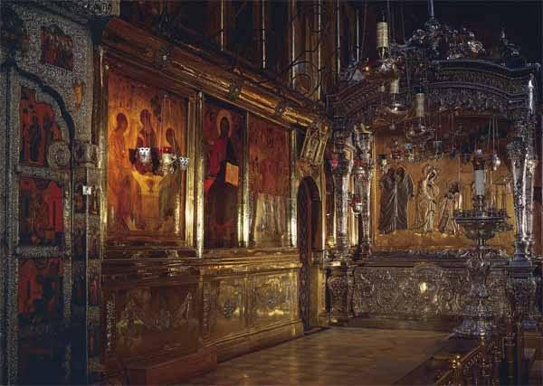 Троицкий собор. Рака с мощами преподобного Сергия Радонежского