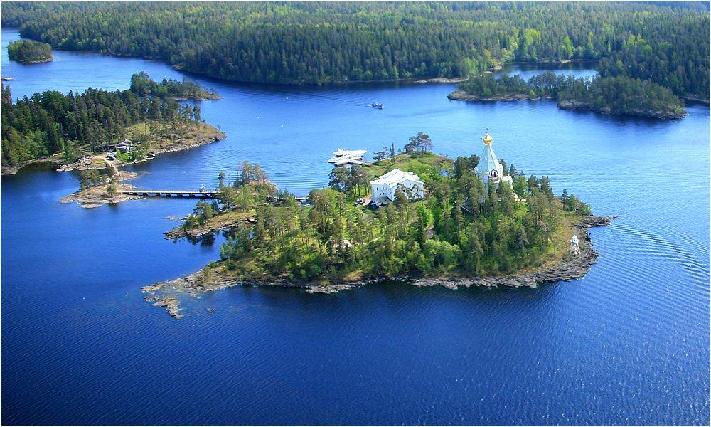 Один из островов Валаама на Ладожском озере