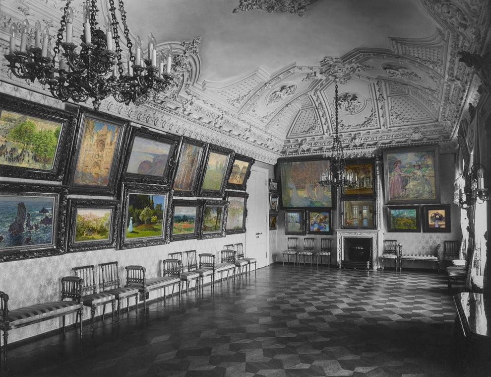 Зал Моне с Голубыми Танцовщицами в доме Сергея Щукина