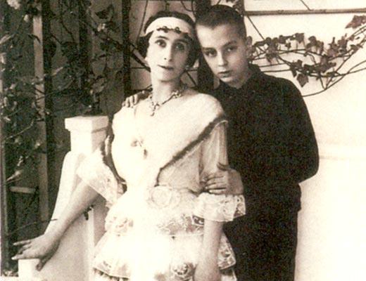 Матильда Кшесинская с сыном Владимиром