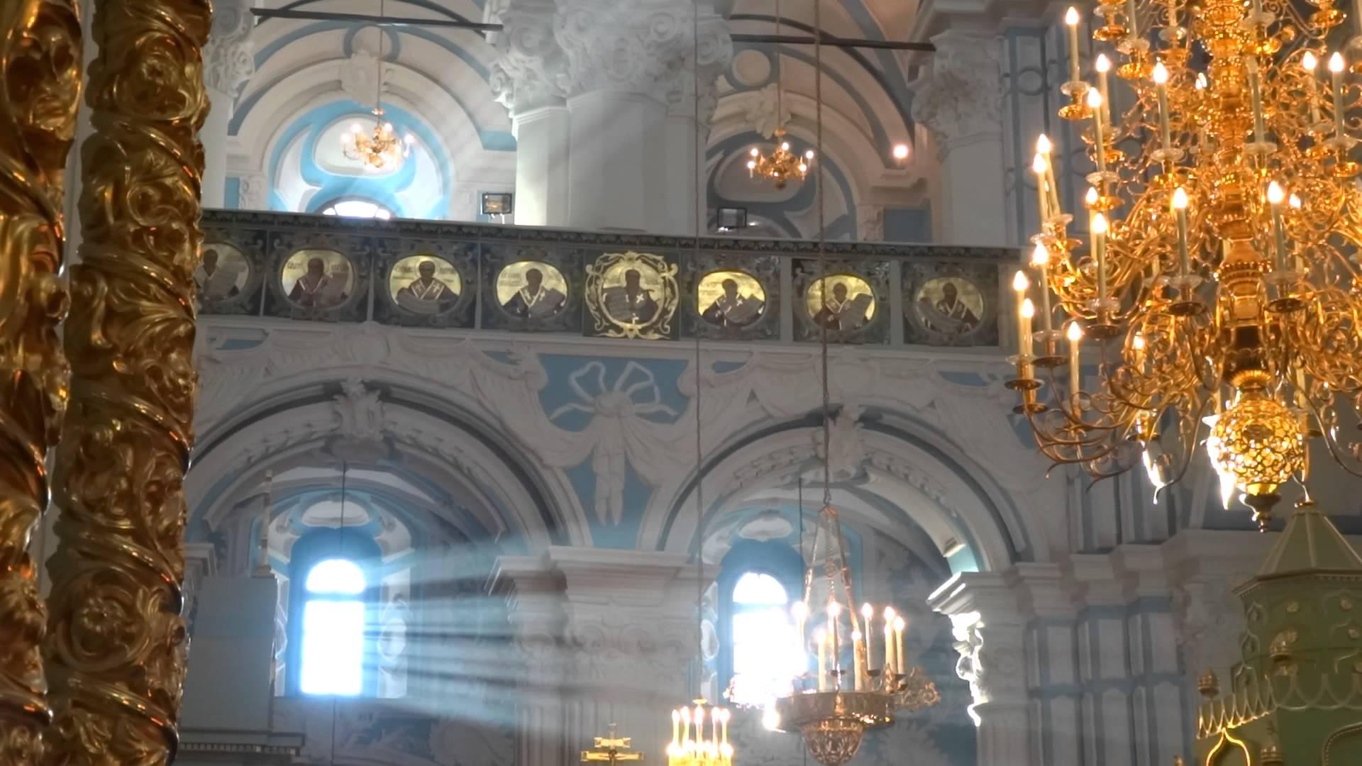Новоиерусалимский морастырь. Интерьер