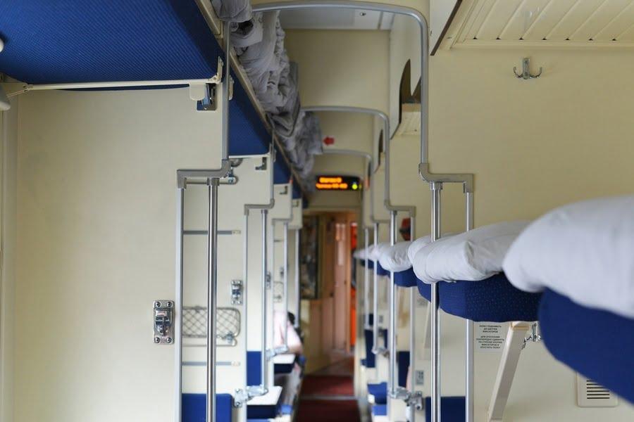 РЖД в поезде