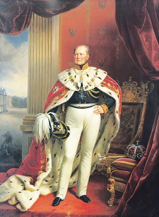 Король Пруссии Фридрих=Вильгельм IV