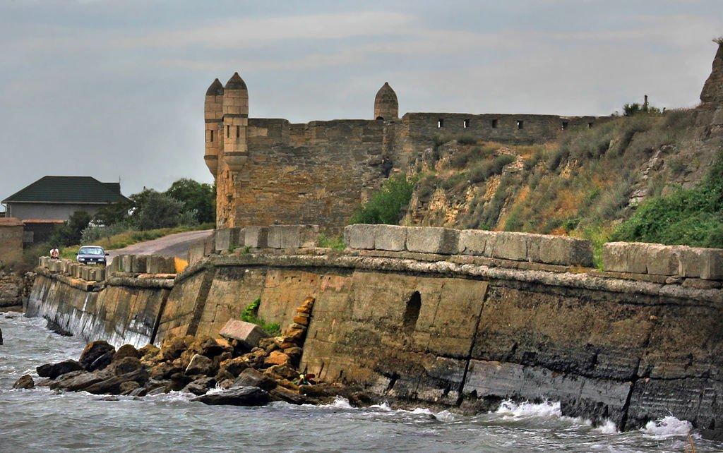 уины турецкой крепости Ени-Кале в Керчи