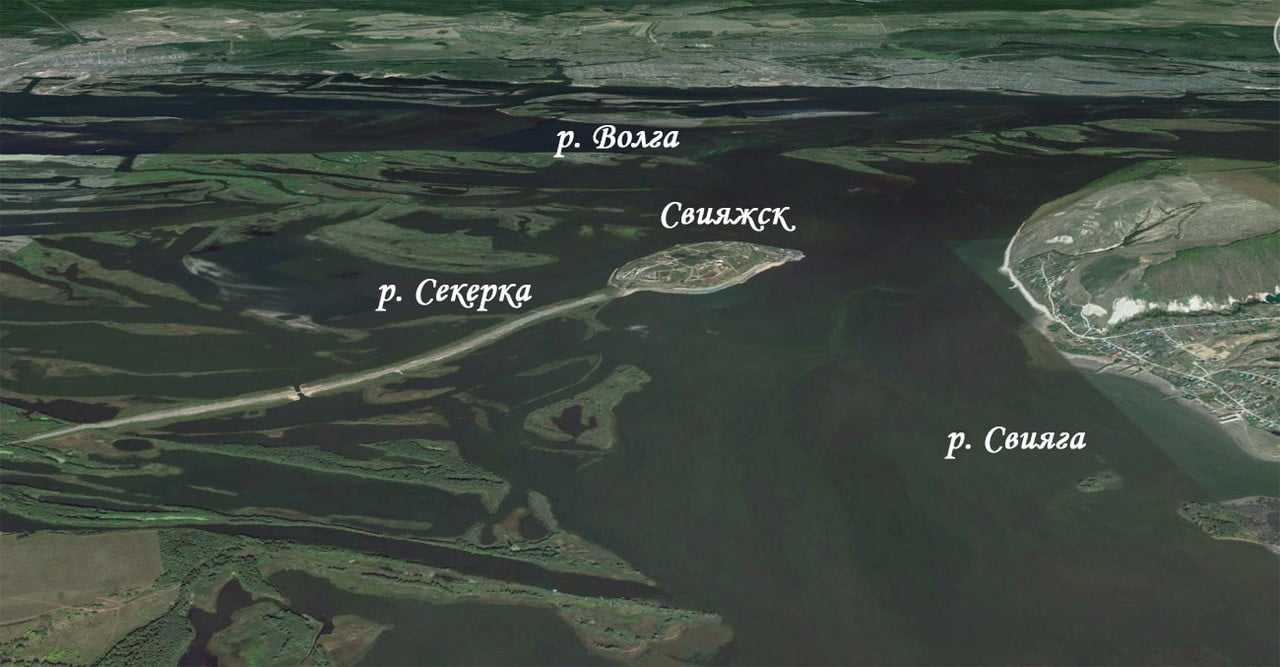 Карта свияжска