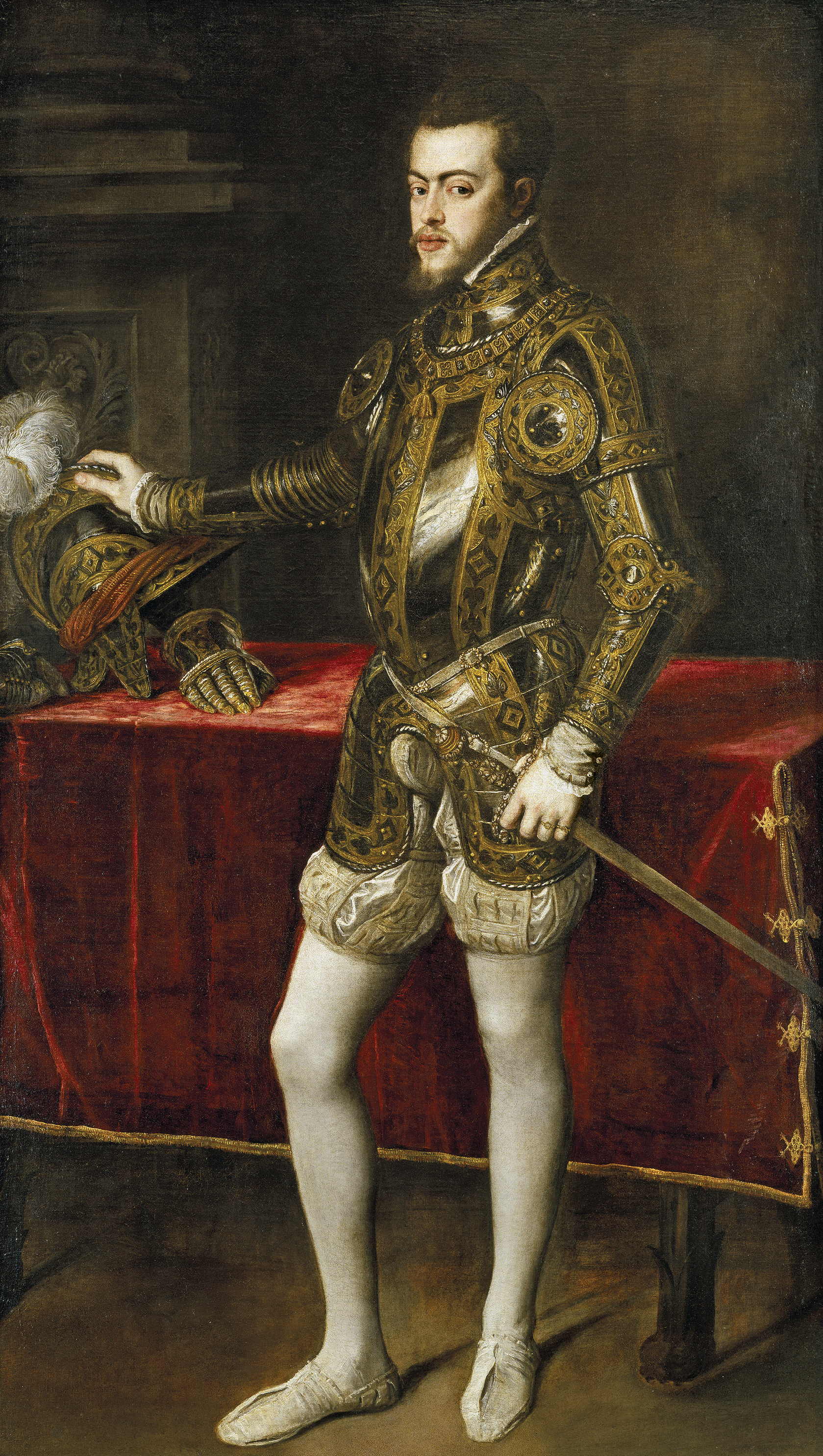 "Тициан ""Филипп II в юности"" 1551"