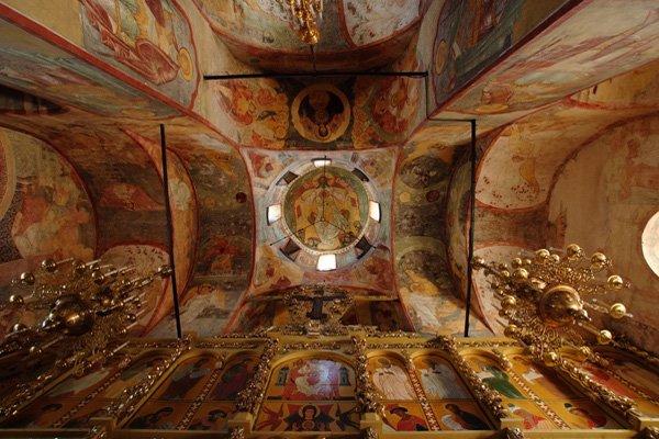 Успенский собор свияжска. Фрески времен Ивана Грозного