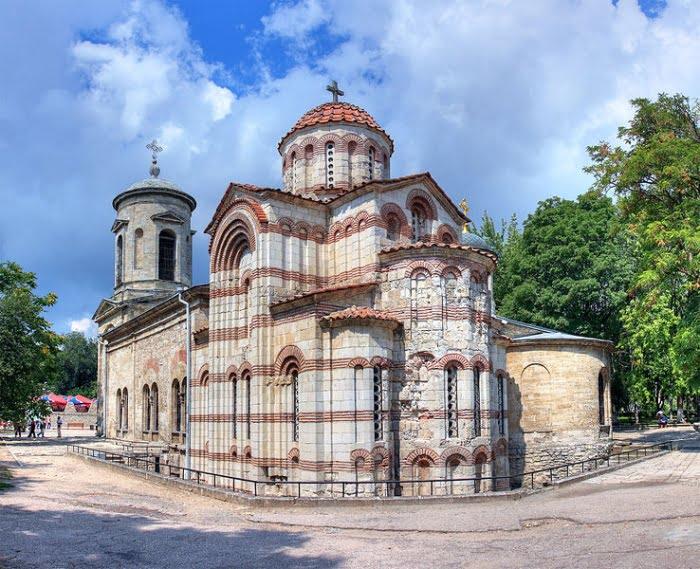 Византийская керчь. Храм Усекновения главы Иоанна Предтечи