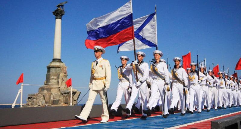 Севастополь. День Военно-Морского флота России